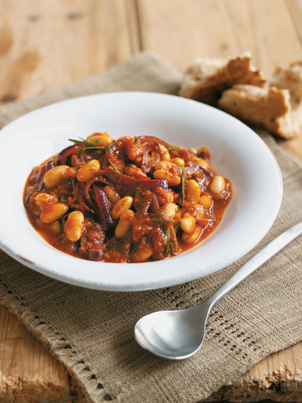 Tomato, Rosemary and Cannellini Bean Stew - AOL Living UK