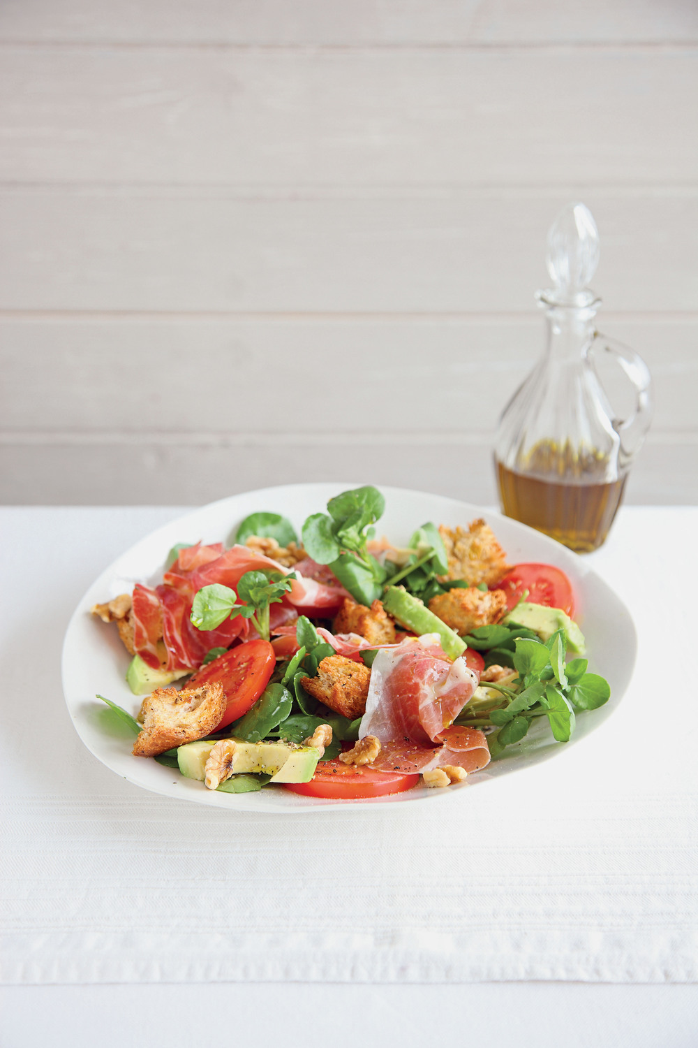 Serrano Ham and Watercress Salad with Avocado - AOL Living UK