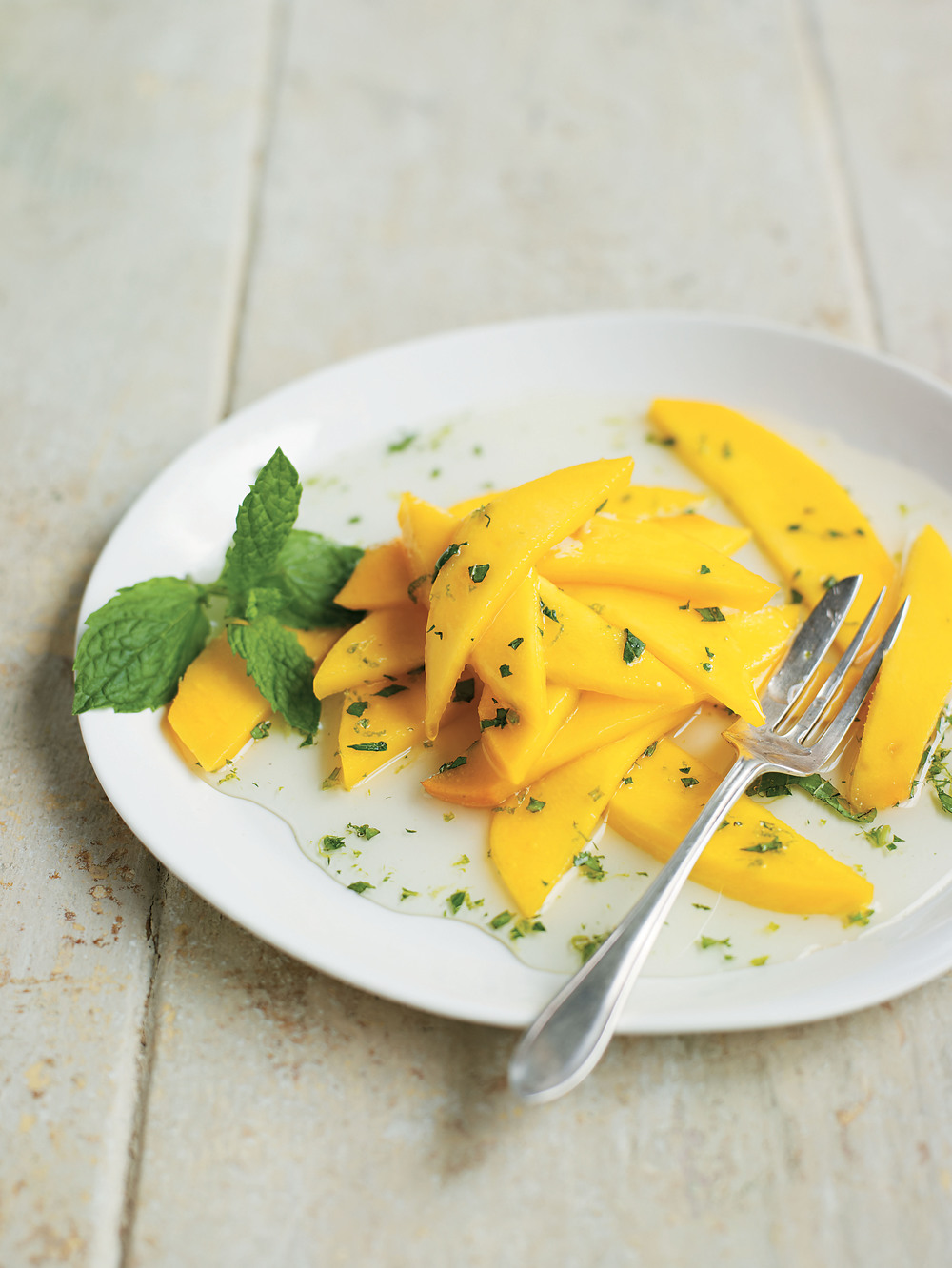 Mango and Mint Carpaccio recipe