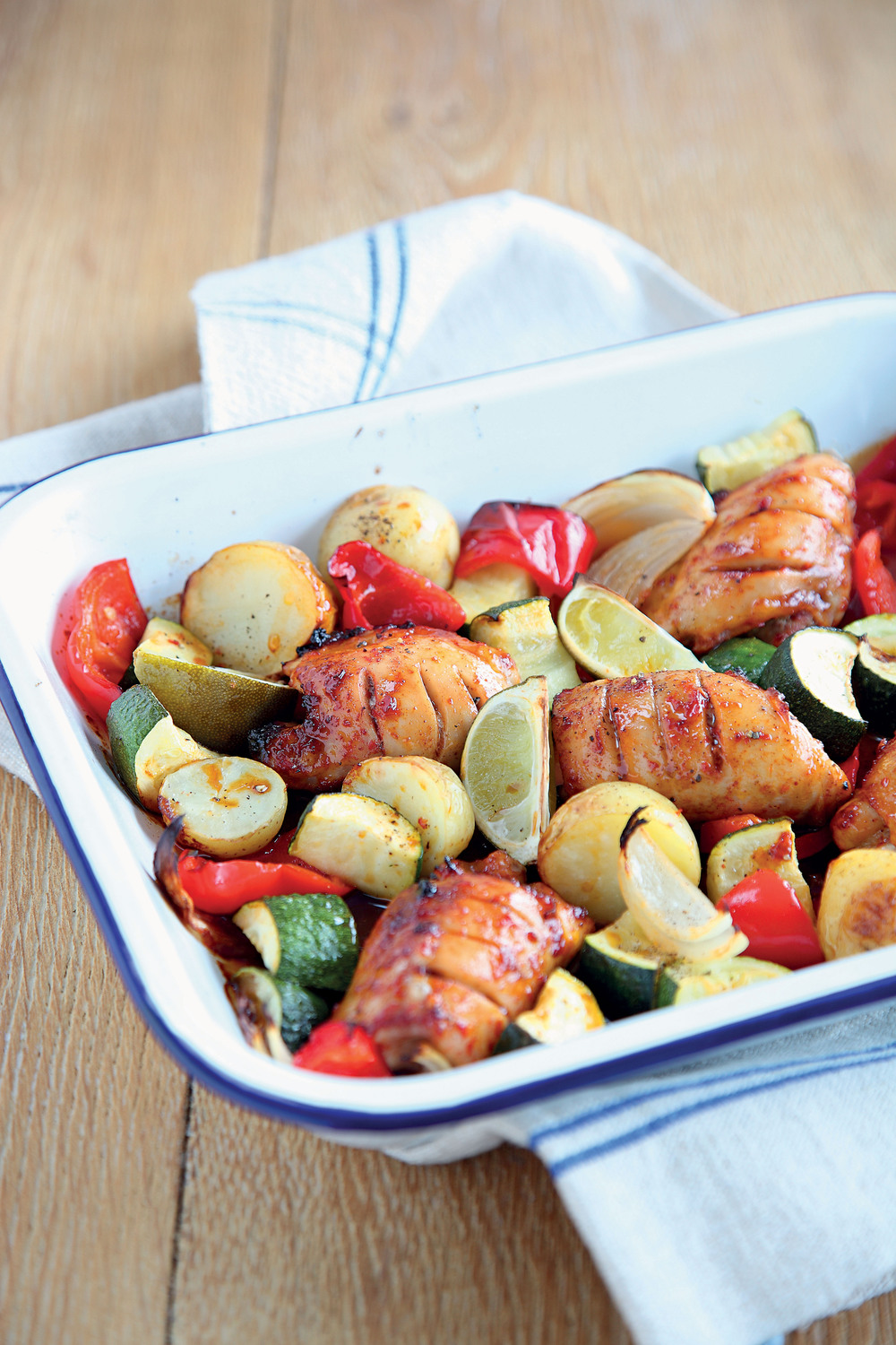 Spiced Roast Chicken with Lime - AOL Living UK