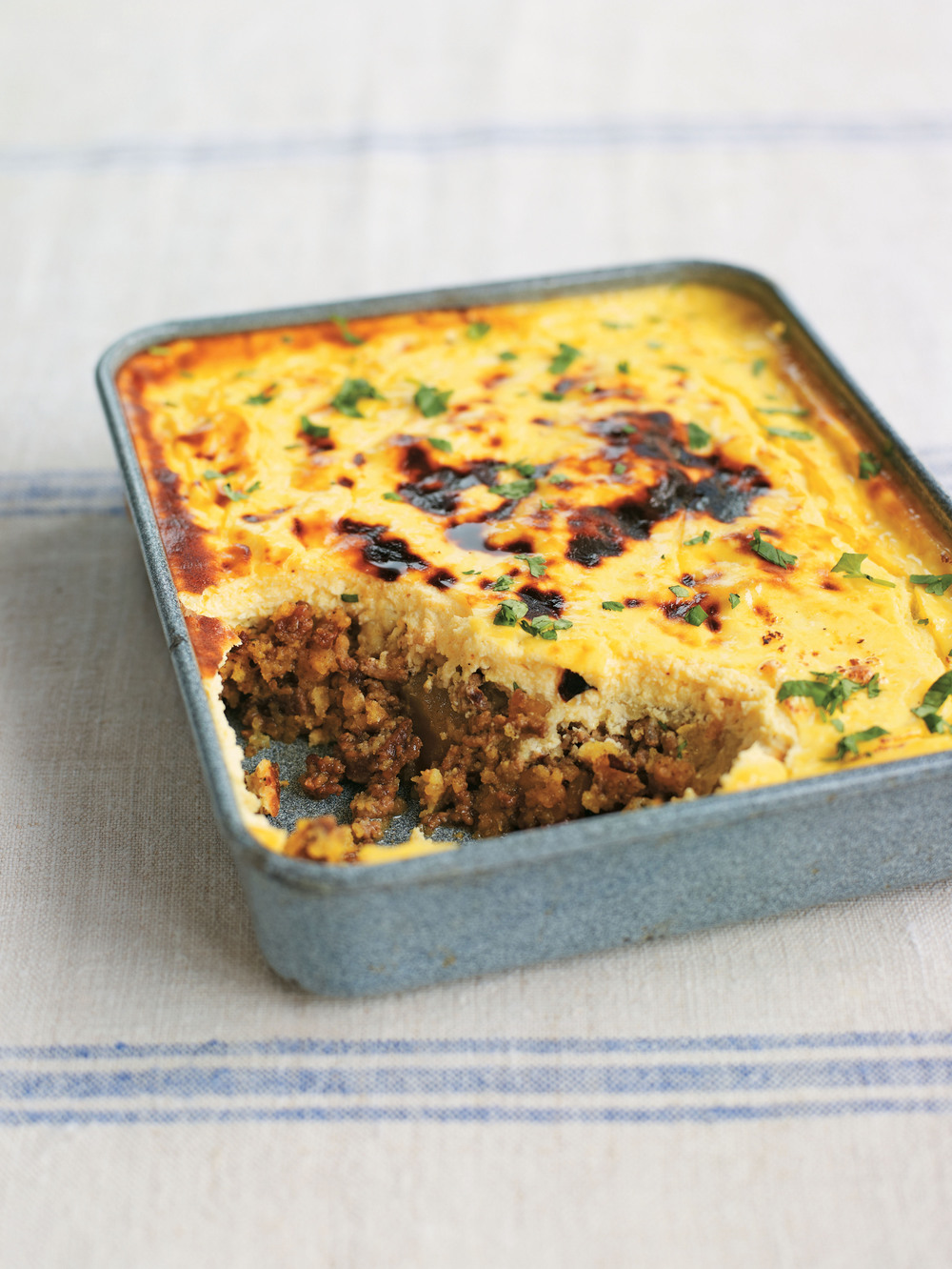 African Curried Beef and Mango Chutney Bake - AOL Living UK