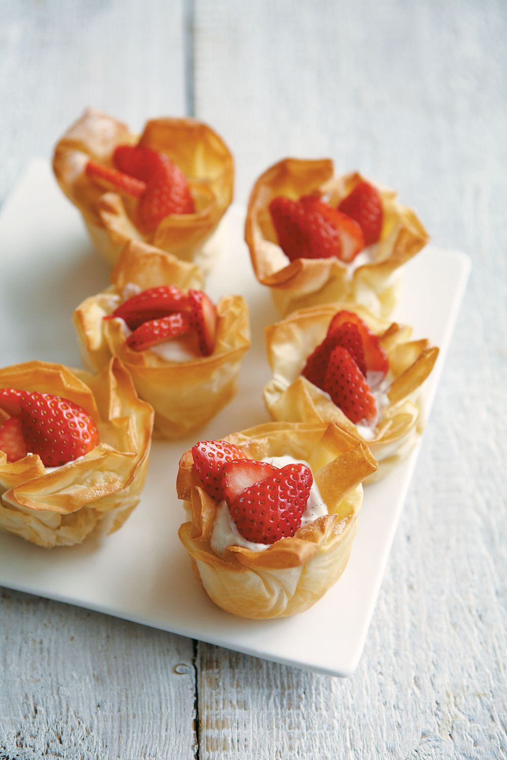 Strawberry Ricotta Tartlets - AOL Living UK