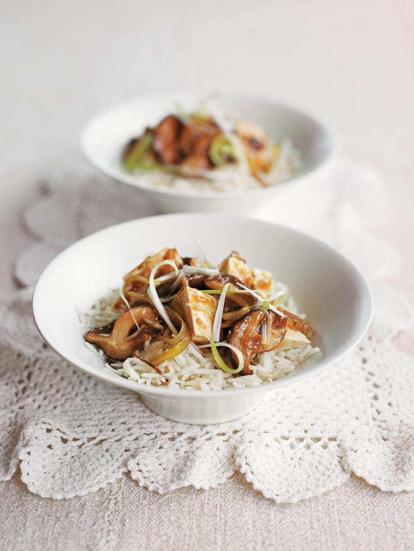 Spicy Tofu and Mushroom Stir-Fry - AOL Living UK