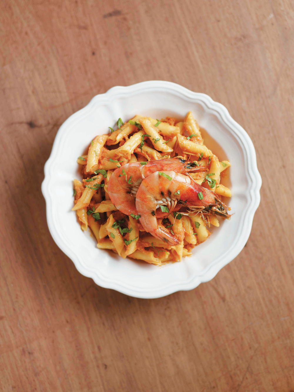 Creamy Tomato Pasta with Prawns - AOL Living UK