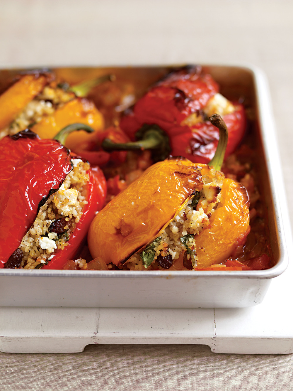 Feta-Stuffed Peppers - AOL Living UK