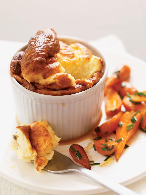 Parmesan Soufflés with Carrots - AOL Living UK