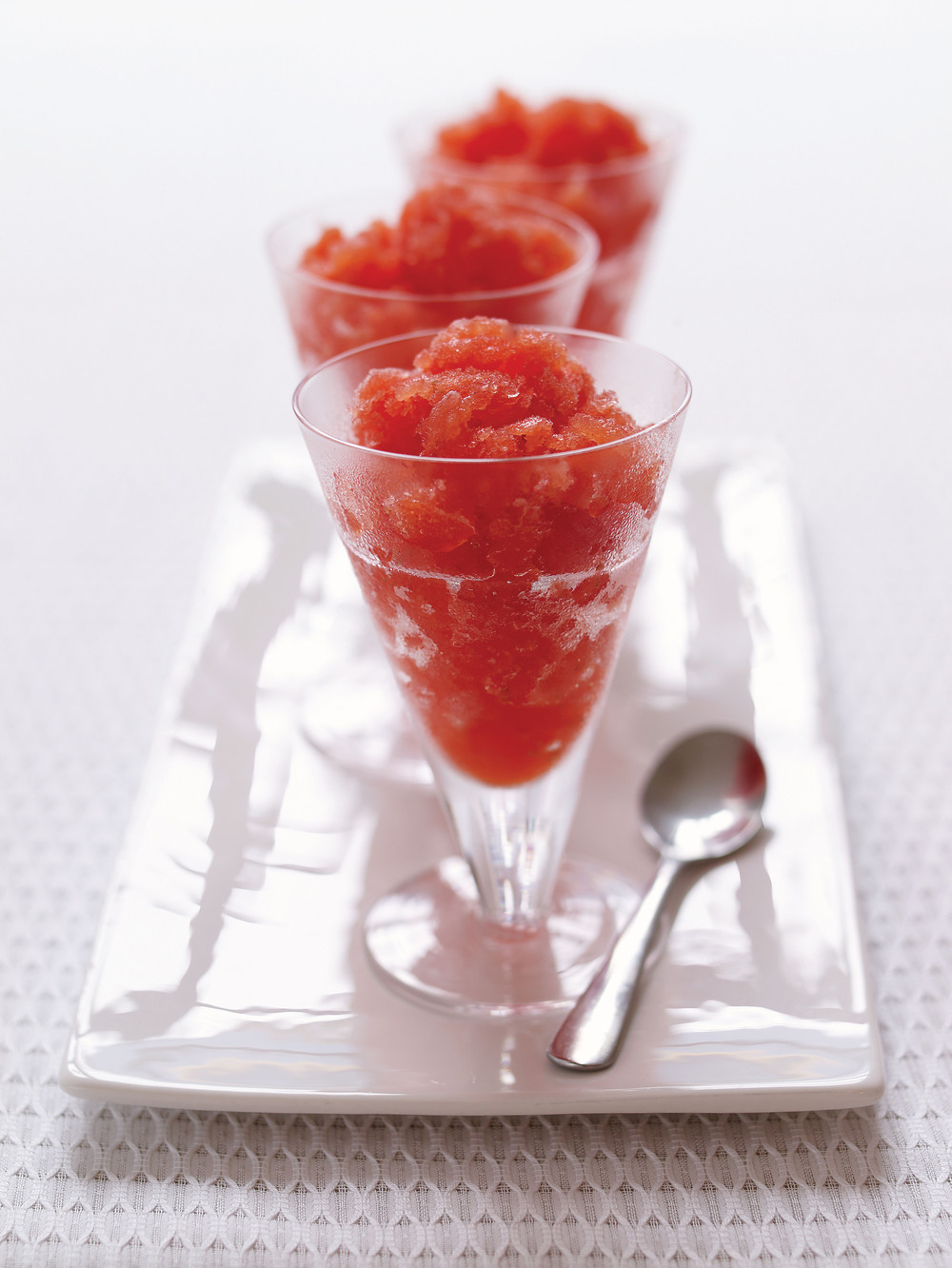 Strawberry & Vodka Granita recipe