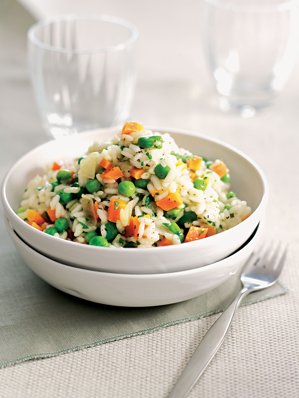 Carrot, Pea & Broad Bean Risotto - AOL Living UK