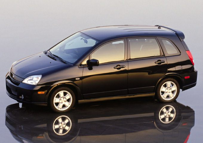 2004 suzuki aerio sx base w awd 4dr all wheel drive. Black Bedroom Furniture Sets. Home Design Ideas
