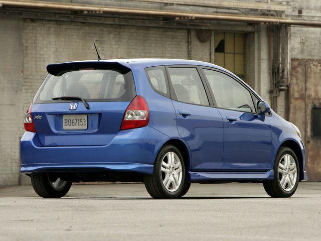 2007 honda fit sport 4dr front wheel drive hatchback pictures. Black Bedroom Furniture Sets. Home Design Ideas