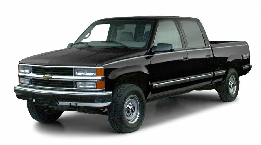 2000 chevrolet k2500 base 4x4 crew cab 154 5 in wb hd pictures. Black Bedroom Furniture Sets. Home Design Ideas