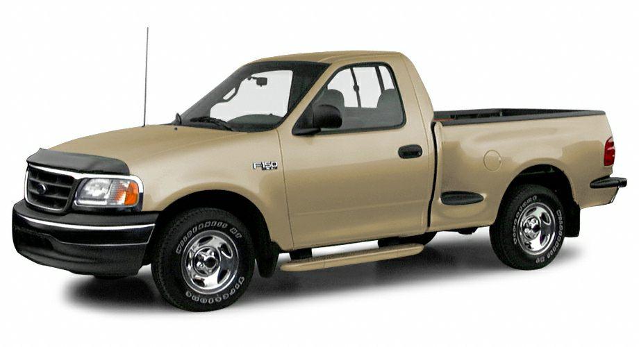 2000 ford f 150 xl 4x2 regular cab flareside 119 9 in wb information. Black Bedroom Furniture Sets. Home Design Ideas