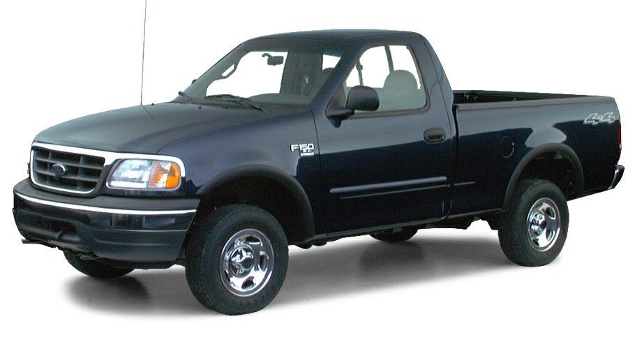 2000 ford f 150 work series 4x4 regular cab styleside 120 2 in wb information. Black Bedroom Furniture Sets. Home Design Ideas