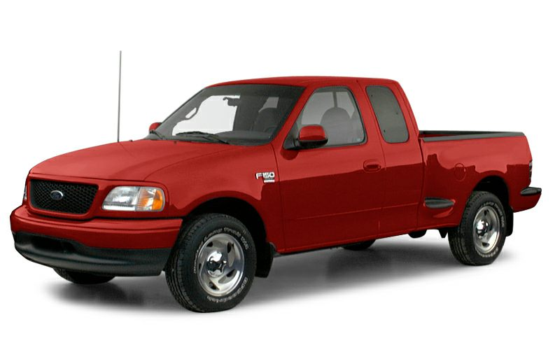 2000 ford f 150 xl 4x4 super cab flareside 138 8 in wb information. Black Bedroom Furniture Sets. Home Design Ideas