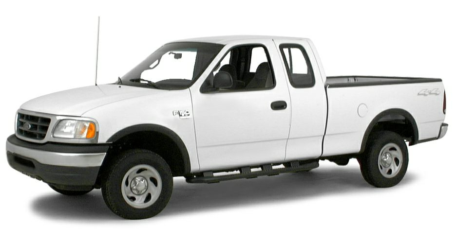 2000 ford f 150 work series 4x4 super cab styleside 138 8 in wb information. Black Bedroom Furniture Sets. Home Design Ideas