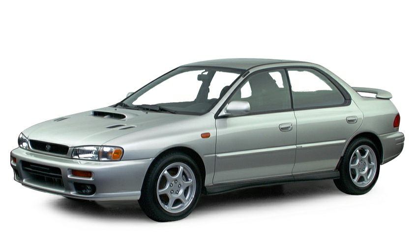 2000 subaru impreza 2 5rs 2dr all wheel drive coupe information. Black Bedroom Furniture Sets. Home Design Ideas