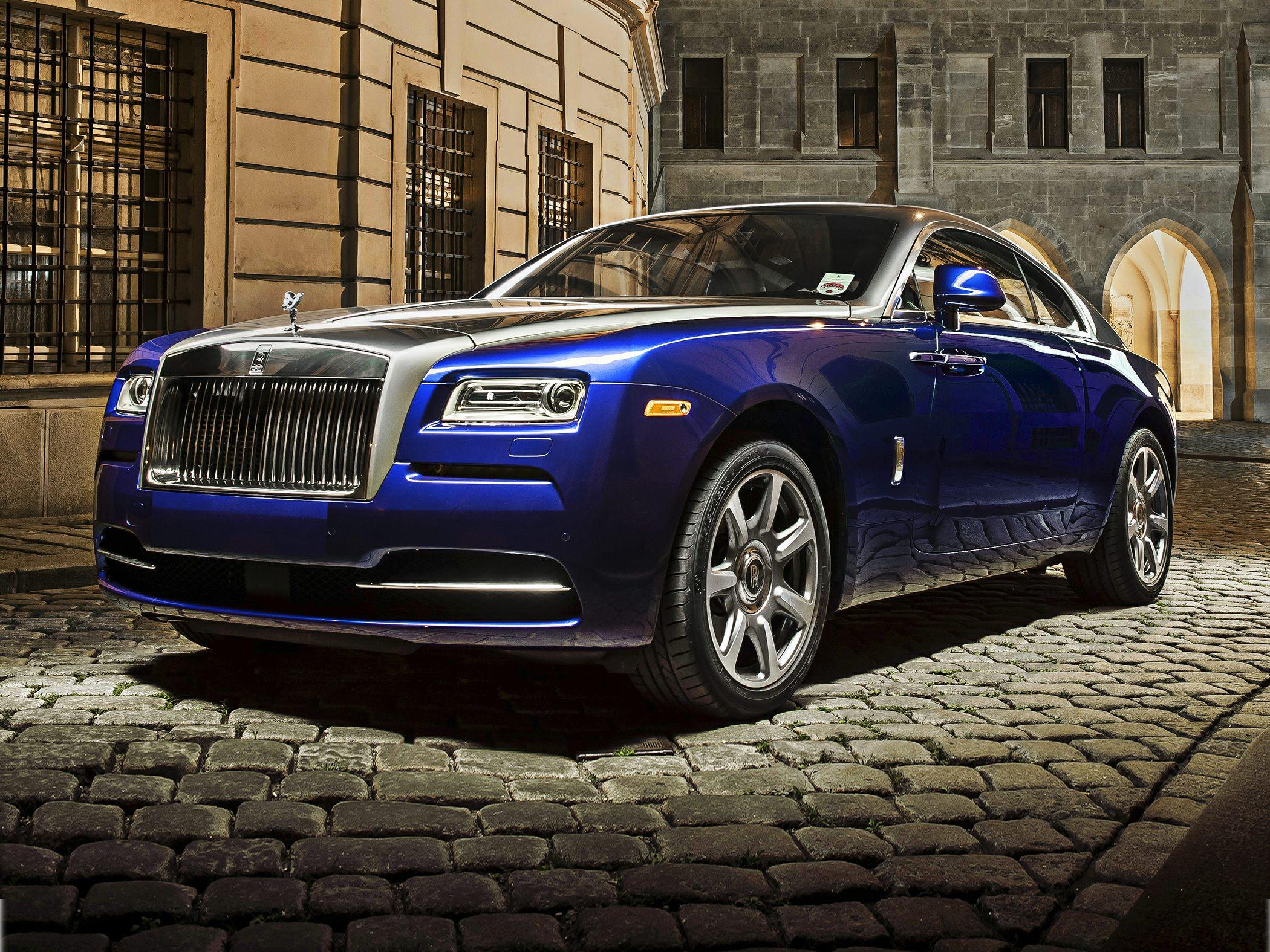 The Wraith Car: 2014 Rolls-Royce Wraith