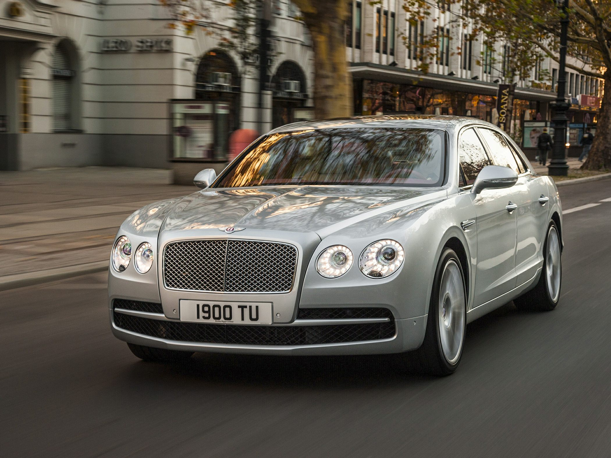 2017 Bentley Flying Spur W12 S Laughs At The 200-mph