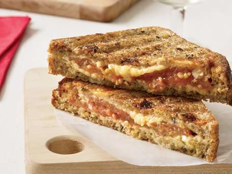 Image of Multigrain Grilled Cheese Sandwiches, Kitchen Daily