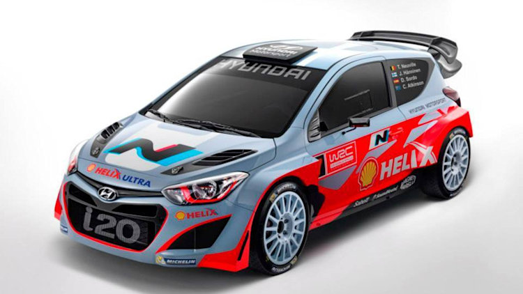 hyundai announces n performance sub brand at wrc launch autoblog. Black Bedroom Furniture Sets. Home Design Ideas