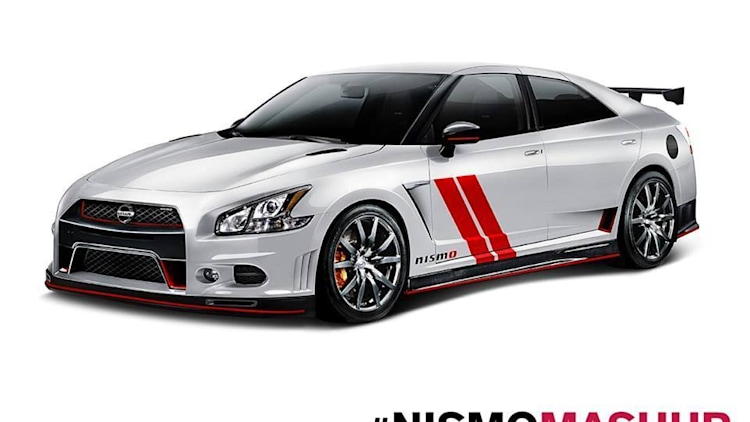 Nismo mashes it up with Sentra 370Z and Maxima GT-R ...