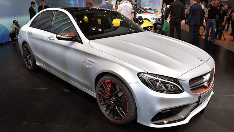 2016 mercedes amg c63 pairs up to 503 hp with a backseat for scaring friends autoblog. Black Bedroom Furniture Sets. Home Design Ideas