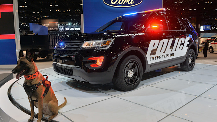 2016 Ford Police Interceptor Utility Shows Up For Duty In