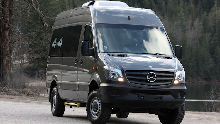 2015 mercedes benz sprinter 4x4 first drive photo gallery autoblog. Black Bedroom Furniture Sets. Home Design Ideas