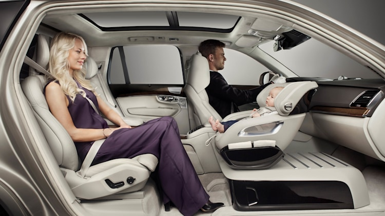 Volvo Spoils Your Kid With Xc90 Child Seat Concept W