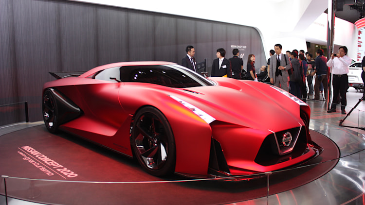Nissan Concept 2020 Vision Gran Turismo is seeing red ...