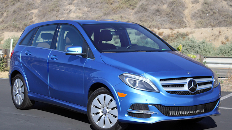 2015 mercedes benz b class electric drive review autoblog. Black Bedroom Furniture Sets. Home Design Ideas