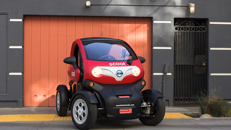 The Scoot Quad is Nissan's small step toward EV car ...