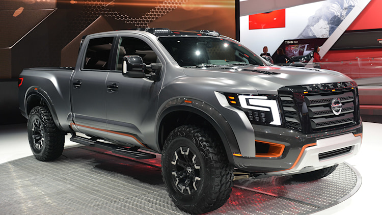 Nissan Titan Warrior Concept: Detroit 2016 Photo Gallery ...