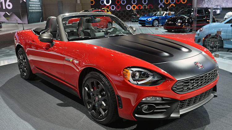 2017 fiat 124 spider elaborazione abarth is lacking its sting autoblog. Black Bedroom Furniture Sets. Home Design Ideas