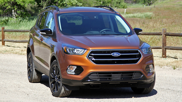 first drive 2017 ford escape titanium awd. Black Bedroom Furniture Sets. Home Design Ideas