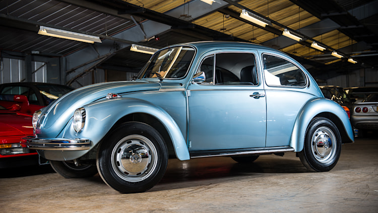 1974 VW Beetle with 90 km from new. Image Credit: Silverstone Auctions