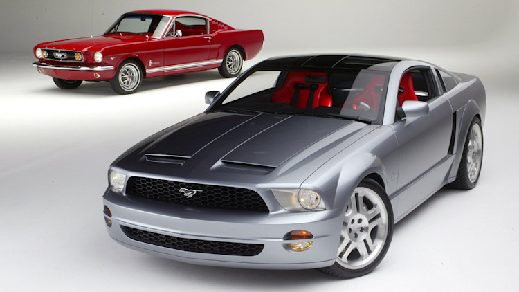 2003 ford mustang gt and convertible concept photo gallery autoblog. Black Bedroom Furniture Sets. Home Design Ideas