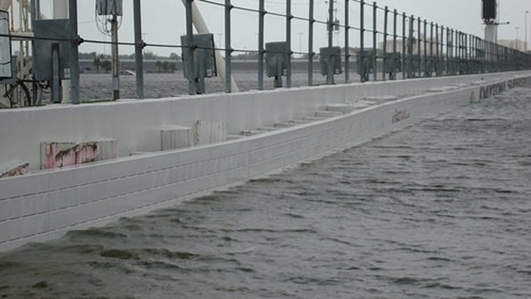 Daytona International Speedway Flooding Photo Gallery