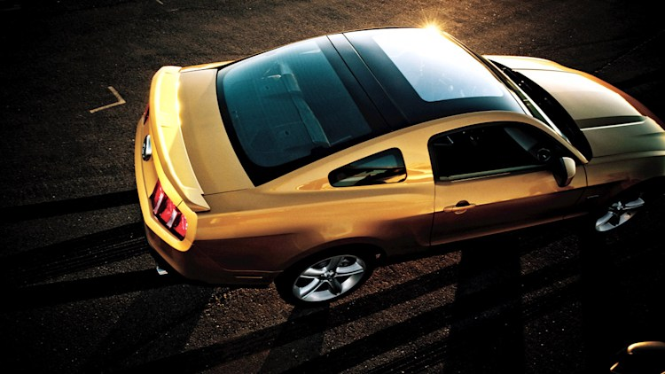Glass Roof Ford Mustang Returns For 2010 Autoblog