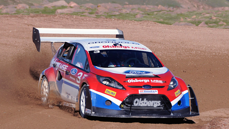 Ford Certified Pre Owned >> Ford Fiesta Rally Car at Pikes Peak Photo Gallery - Autoblog