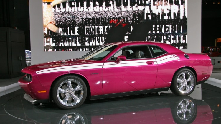 Chicago 2010 Panther Pink Furious Fuchsia Challenger