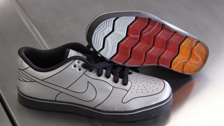 official photos a78f9 39494 ... nike dunk 6.0 delorean shoes autoblog giveaway ...
