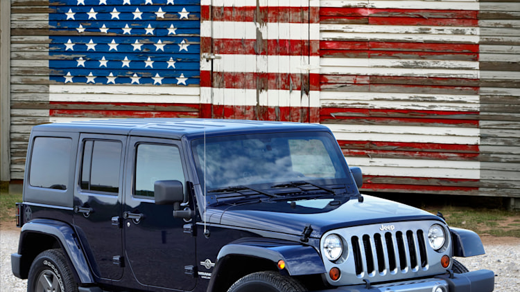 Jeep Wrangler Freedom Edition arrives in time for 4th of ...