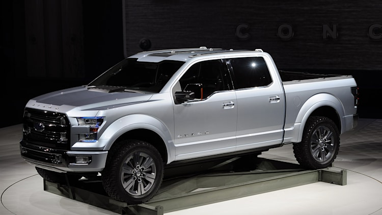 ford atlas concept carries the weight of the f 150 on its shoulders w video autoblog. Black Bedroom Furniture Sets. Home Design Ideas
