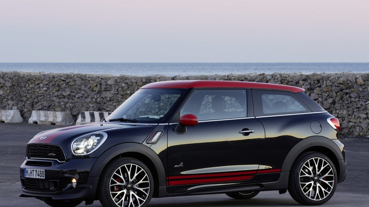 Image result for mini paceman jcw no copyright photo