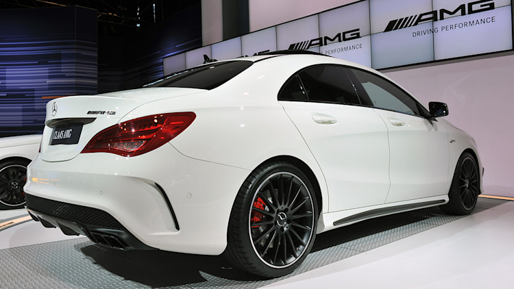 2014 mercedes cla 45 amg 360hp drive sound 1080p autos post. Black Bedroom Furniture Sets. Home Design Ideas