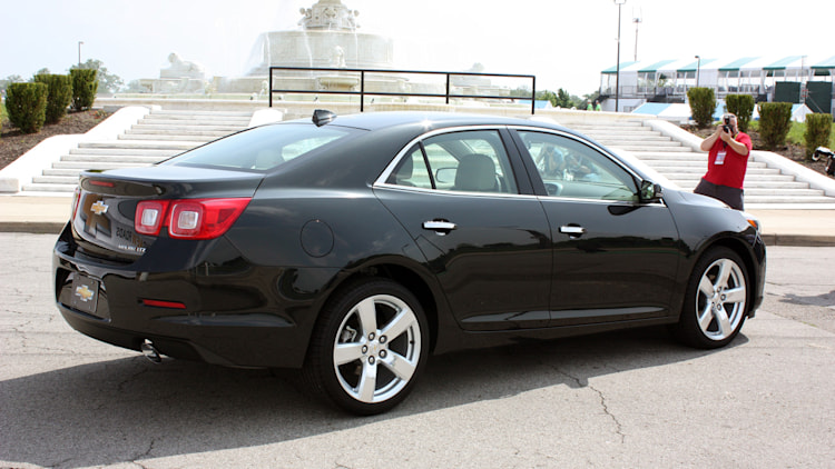 2014 Chevy Malibu rated at 25/36 mpg, priced from $22,140 ...