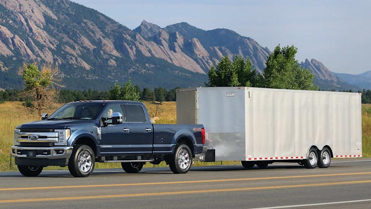 2017 Ford F-250 Super Duty aces NHTSA crash tests with 5 ...