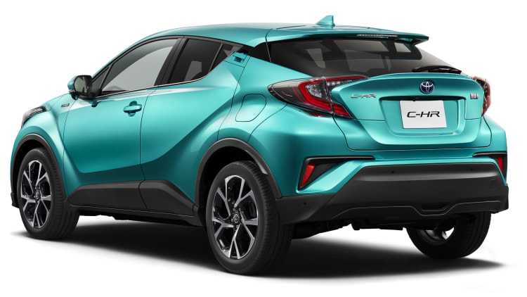 the toyota c hr compact crossover will be a hybrid autoblog. Black Bedroom Furniture Sets. Home Design Ideas