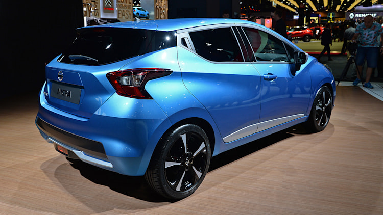 2017 nissan micra looks cuter but it 39 s still small and. Black Bedroom Furniture Sets. Home Design Ideas